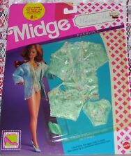 VINTAGE MATTEL BARBIE MIDGE WEDDING DAY LINGERIE CLOTHES  #9631 NIP NOC 1990