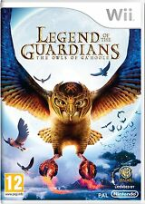 Nintendo Wii Warner Brothers Game Legend of the guardians New