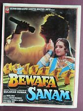 Press Book Indian Movie promotional Song booklet Pictorial Bewafa Sanam 1995