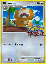 BIBAREL 16/16 Rumble Series Game Promo Set Pokemon Card