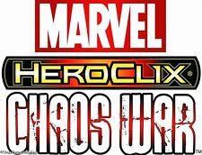 HEROCLIX CHAOS WAR Lava Man 008 Jinku 018 (Monster Mystical Warrior) LOOK LIST