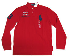 $145 Polo Ralph Lauren Mens Slim Custom Fit Big Pony Country Shirt S M L XL 2XL