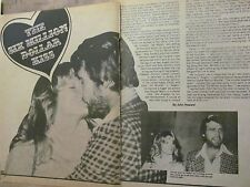 Farrah Fawcett, Charlie's Angels, Two Page Vintage Clipping
