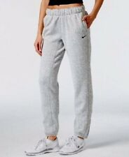 Nike Women's Therma-FIT Sweat Pants Grey Heather Size Medium