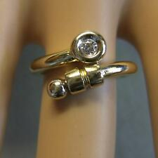 9 ct gold second hand fancy stone ring