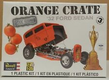 DRAG RACING A/A GASSER 1932 FORD SEDAN ORANGE CRATE CAR SHOW REVELL MODEL KIT