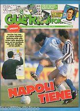 GUERIN SPORTIVO-1989 n.48- FILM CAMPIONATO+16 FIGURINE - NO INSERTO MONDIALI