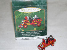 Hallmark Ornament - Miniature 1924 Toledo Fire Engine #6
