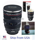 Canon Caniam Camera Lens EF 24-105mm Stainless Steel Travel Tea Coffee Mug Cup
