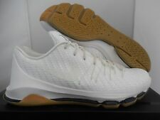 "NIKE KD 8 EXT WOVEN SAIL-SAIL-WHITE-CHROME-BLK SZ 10.5 ""GUM BOTTOM"" [806393-100]"