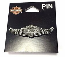 Genuine Harley Davidson Winged Bar & Shield Pin Badge P339066