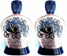 LOT OF 2 Black Noir 22x Black Label Tanning Bed Lotion By Designer Skin