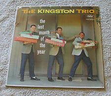 The Kingston Trio 1960 Capitol Mono LP The Last Month Of The Year Christmas