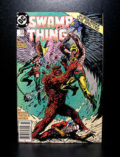 COMICS: DC: Saga of the Swamp Thing #58 (1980s), Adam Strange app - RARE (moore)