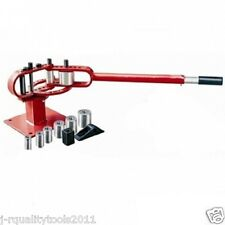 HD COMPACT MANUAL BENCH MOUNTED MOUNT STEEL PIPE AND TUBING BENDER BENDING TOOL