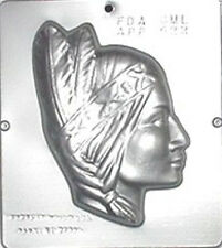 Indian Squaw Chocolate Candy Mold  522 NEW