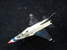 "ERTL Black and White 6-1/2"" Military Die-Cast Plane"