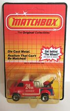 Matchbox Superfast 21e Chevy Breakdown Truck - Mint/Carded