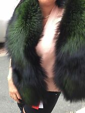 Real  Fox Fur  stole,wrap,scarf, Boa size XL - new with tags