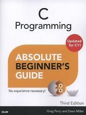*FAST SHIP* - C Programming Absolute Beginner's Guide, 3/e 3E by Greg Perry