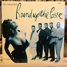 "[SOUL/FUNK/JAZZ]~NM 12""~The MALEMEN~Round Up The Posse~[Radio~Dance~Instrumental"