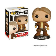 POP! Star Wars Episode VII #79 - Han Solo Bobble-Head Vinyl Figure Funko