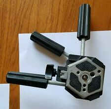 Vintage Bogen Manfrotto 3047 tripod head Italy with hexagonal plate