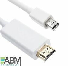 Mini Display Port to HDMI TV Cable Adapter for MacBook Air Pro iMac 5M Meter