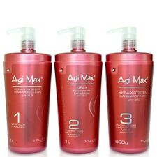 AGI MAX KERA-X LUNA MATRIX BRAZILIAN KERATIN TREATMENT KIT 3X1 LITER