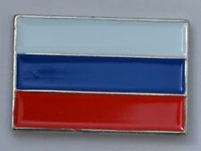 Russian Flag Russian Federation Quality Enamel Pin Badge