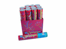 "Happiness 12""  Party Poppers Streamer Confetti Shooter Cannon 72 pcs (1 case)"