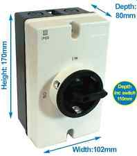SOLAR DC ISOLATOR SWITCH KIT  9 – 29 AMP 600 - 1000 VOLTS IP65 FREE EU Delivery