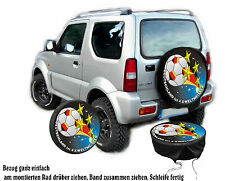 Wm Germany 4 Stars Fan Car - Jeep Reserve Wheel Covering Cover Gift Idea