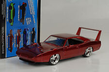 1969 Dodge Charger Daytona Fast and & Furious 6 red rot metallic 1:24 Jada