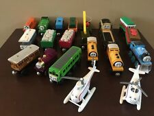 Lot of 20~Thomas Wooden Railway Trains Engines~LADY~BULSTRODE~WINTER WONDERLAND