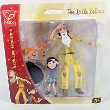 The Little Prince Exclusive Figurines Girl Old Man Fox Hape New