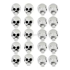 10 Pair Gothic Punk Skull Skeleton Ear Studs Earrings Piercing Jewelry