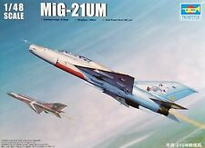 TRUMPETER® 02865 MiG-21UM Fighter in 1:48