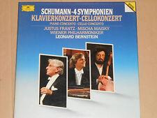Schumann, Frantz, Maisky -Klavierkonzert - Cellokonzert- 3xLP BOX DGG Digital