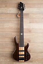 2017 Wolf S10 6 String Walnut Top Neck-Through Bass