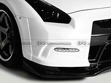 Front Fender Extension For Nissan GTR R35 Early OE Bumper 2013 Ver VA FRP Fiber