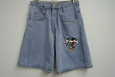 RARE! VTG DISNEY'S MICKEY MOUSE Jerry Leigh denim jean shorts sz S mens #7922