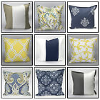 100% Cotton Cushion Covers Decorative Home Office Study Cushions Cases