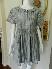 Mori baby doll girl vintage print style dress New XXL
