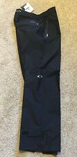 Oakley Mens Waterproof Merrick Pants Jet Black Size Large 32L NWT MSRP $190