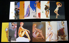 1997 Comic Images Elvgren & Friends Jumbo Trading Card Set (36) Nm/Mt