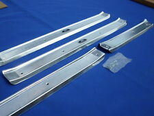 NEW 1961 62 63 64 Chevrolet Chevy Impala BelAir Biscayne Door Sill Plates 4 Door