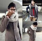 New Winter Warm Mens Womens Unisex Shawl Wrap Soft Thick Long Wool Scarf Couples