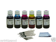 Ink Refill Kit for HP 02 D6160 C8150 C5180 8250 6x4oz/S