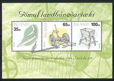 Iceland 1998 Stamp Day/Agriculture/Farming m/s (n32274)